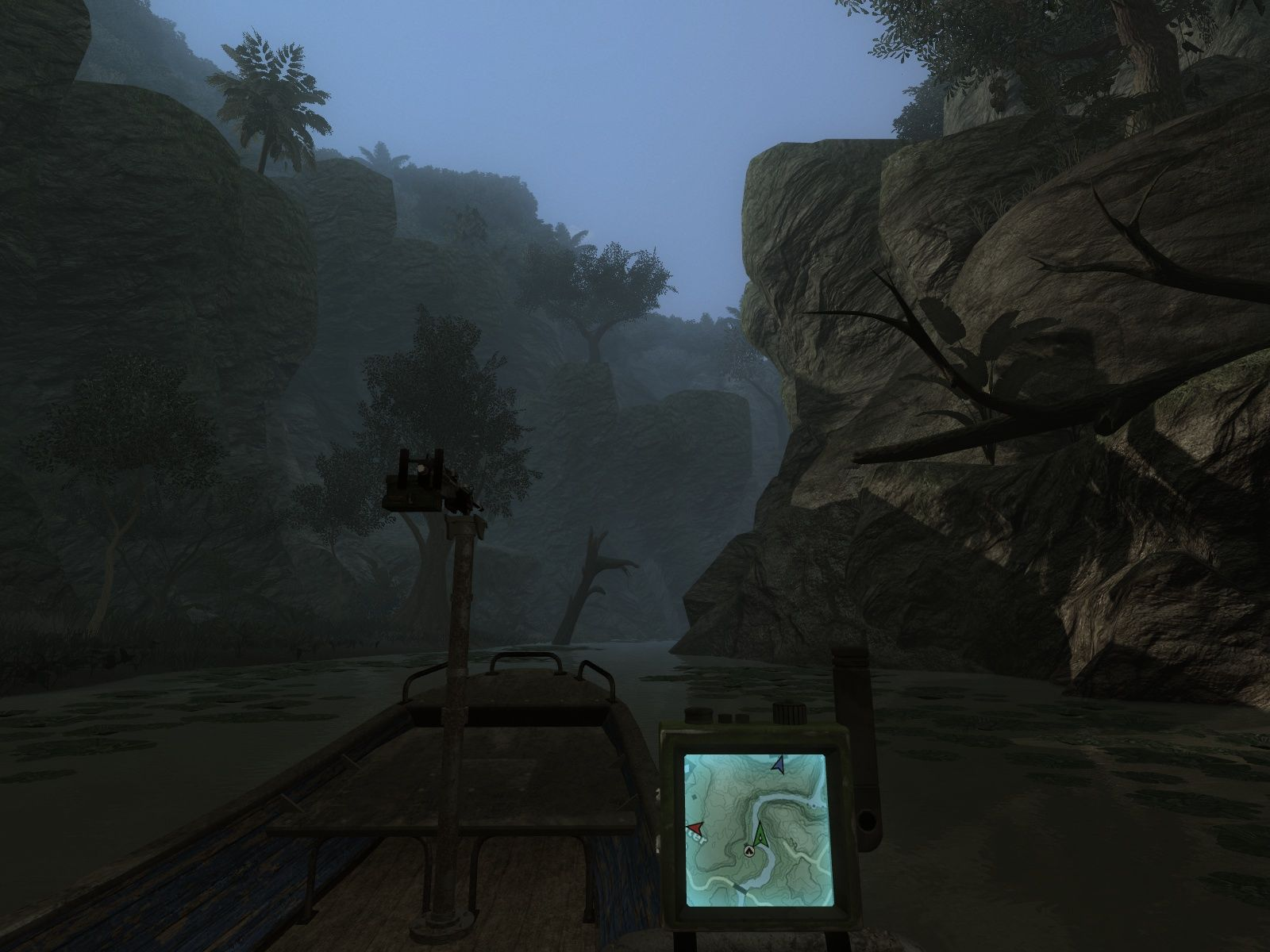 Far Cry 2 Windows A nice spot for a little bit of fishing - or sneaking up on enemies.