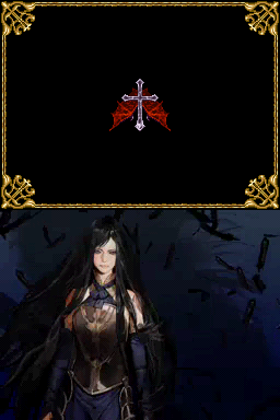 Castlevania: Order of Ecclesia Nintendo DS An intro shot of Shanoa - personally, I find the new art style much better than manga look of C:DS and C:PR.