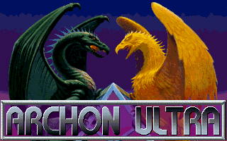 Archon Ultra DOS Title screen.