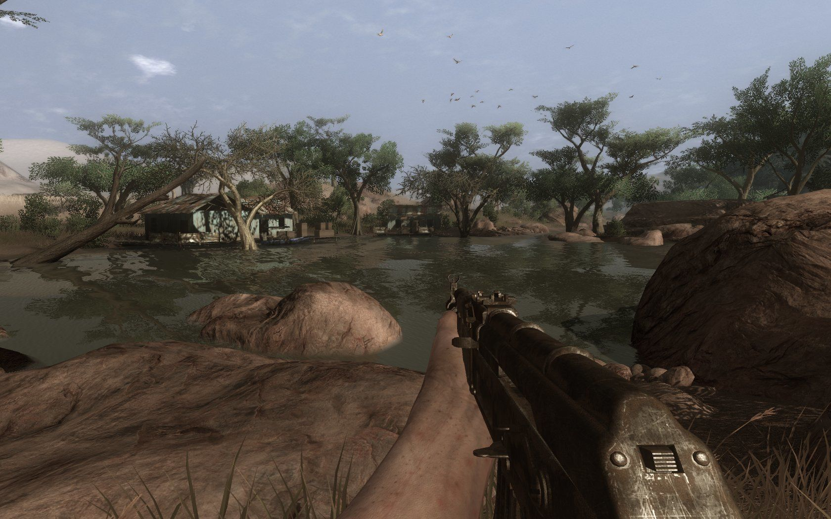 Far Cry 2 Windows the graphics are okay, but that's about it. Overall it's very brown