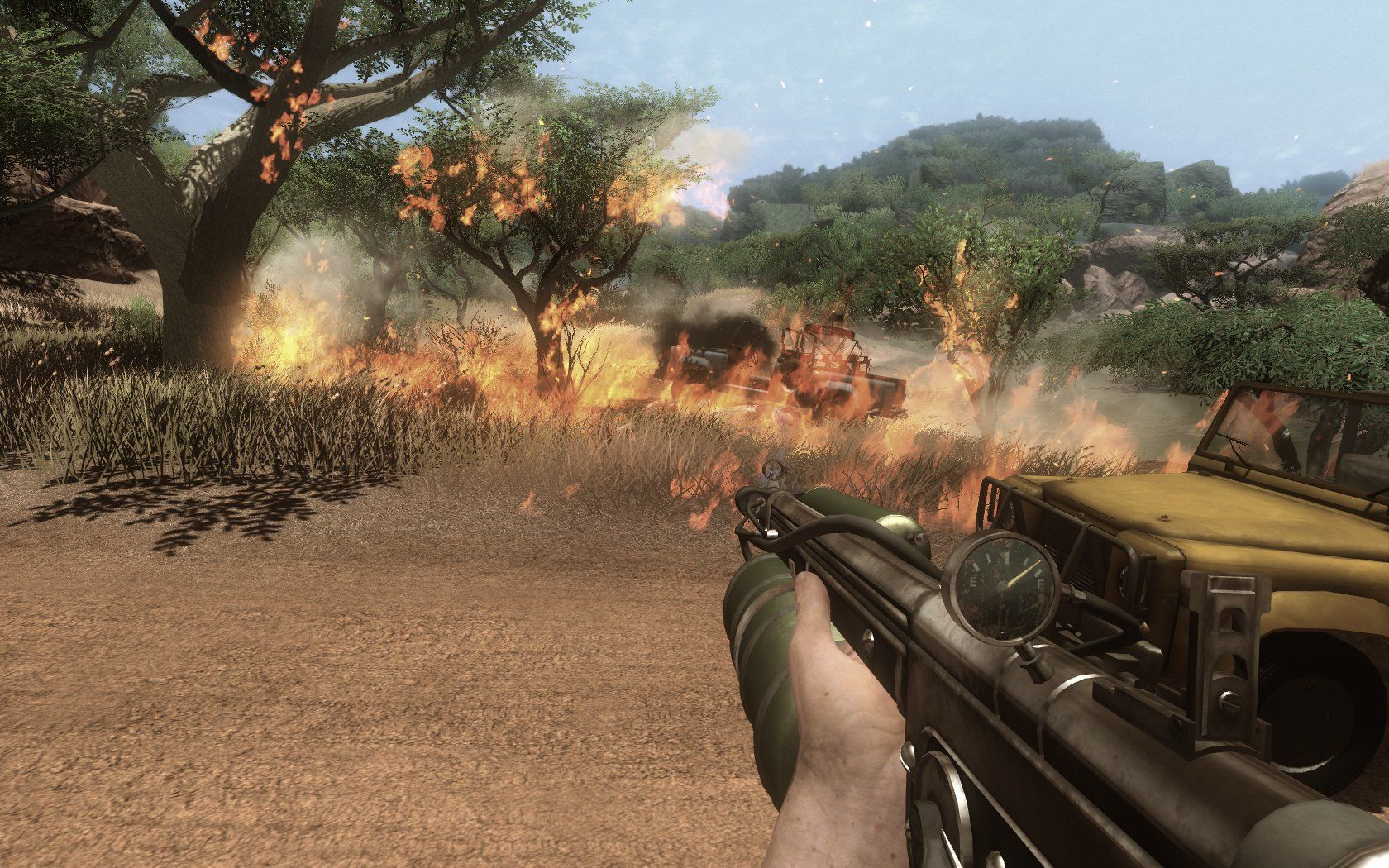 Far Cry 2 Windows pyromania