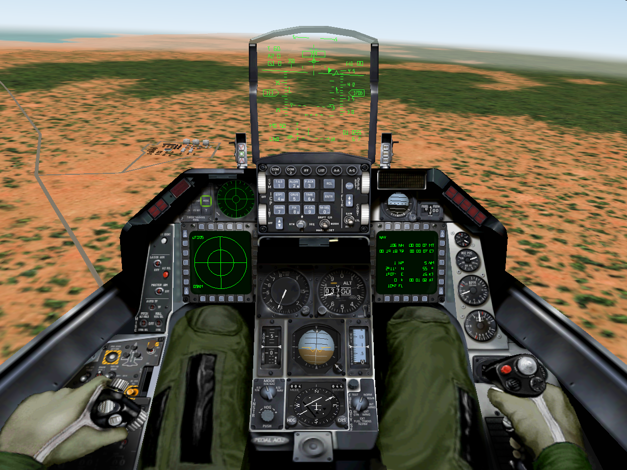 F 18 Cockpit gallery for f 1...