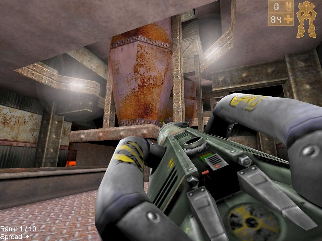 Unreal Tournament Windows An industrial setting and a Big F(censored) Gun... Is there anything else you can ask for?