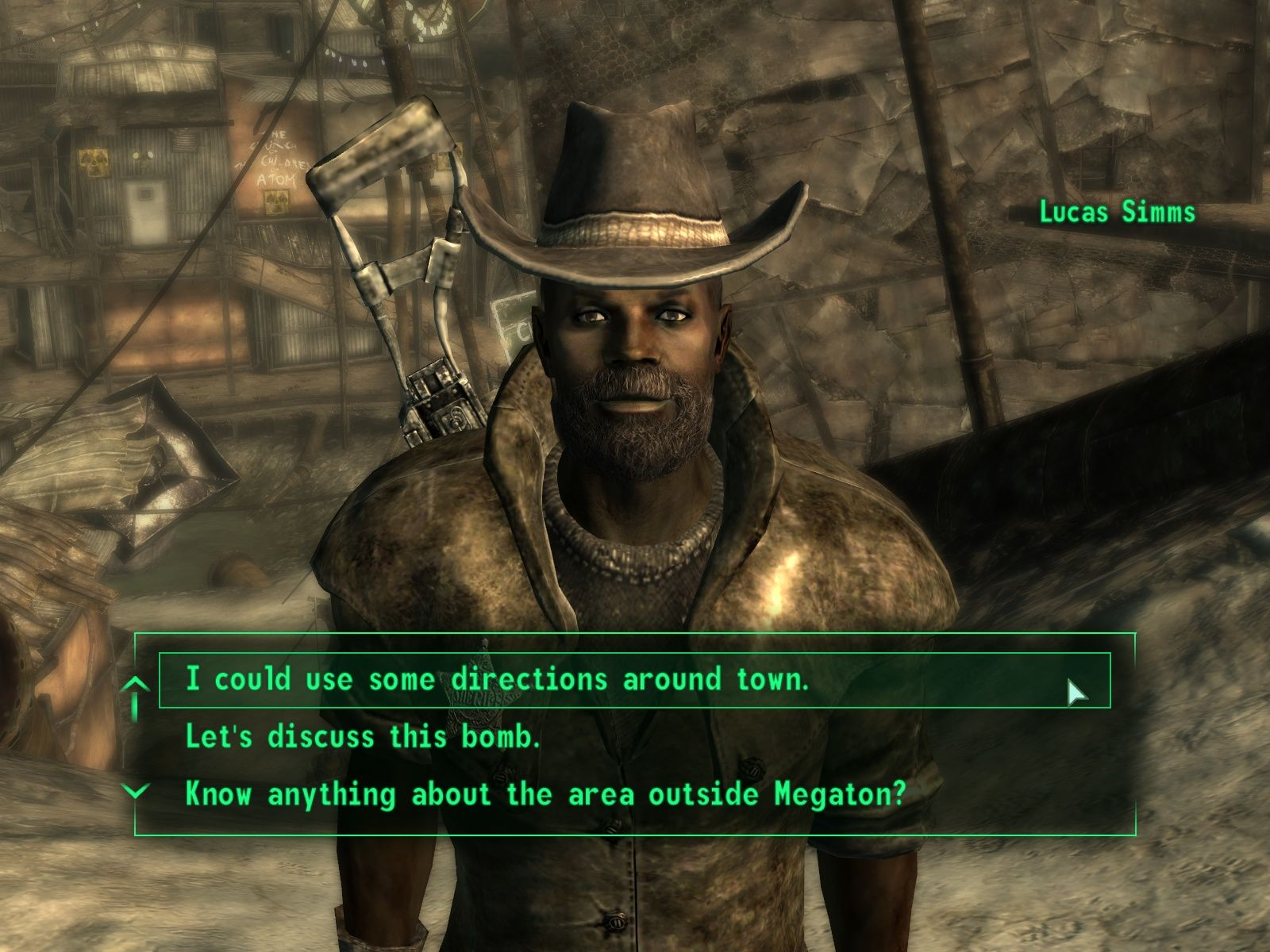 Fallout 3 Windows Your decisions in the multiple choice dialogues are as important as your guns.