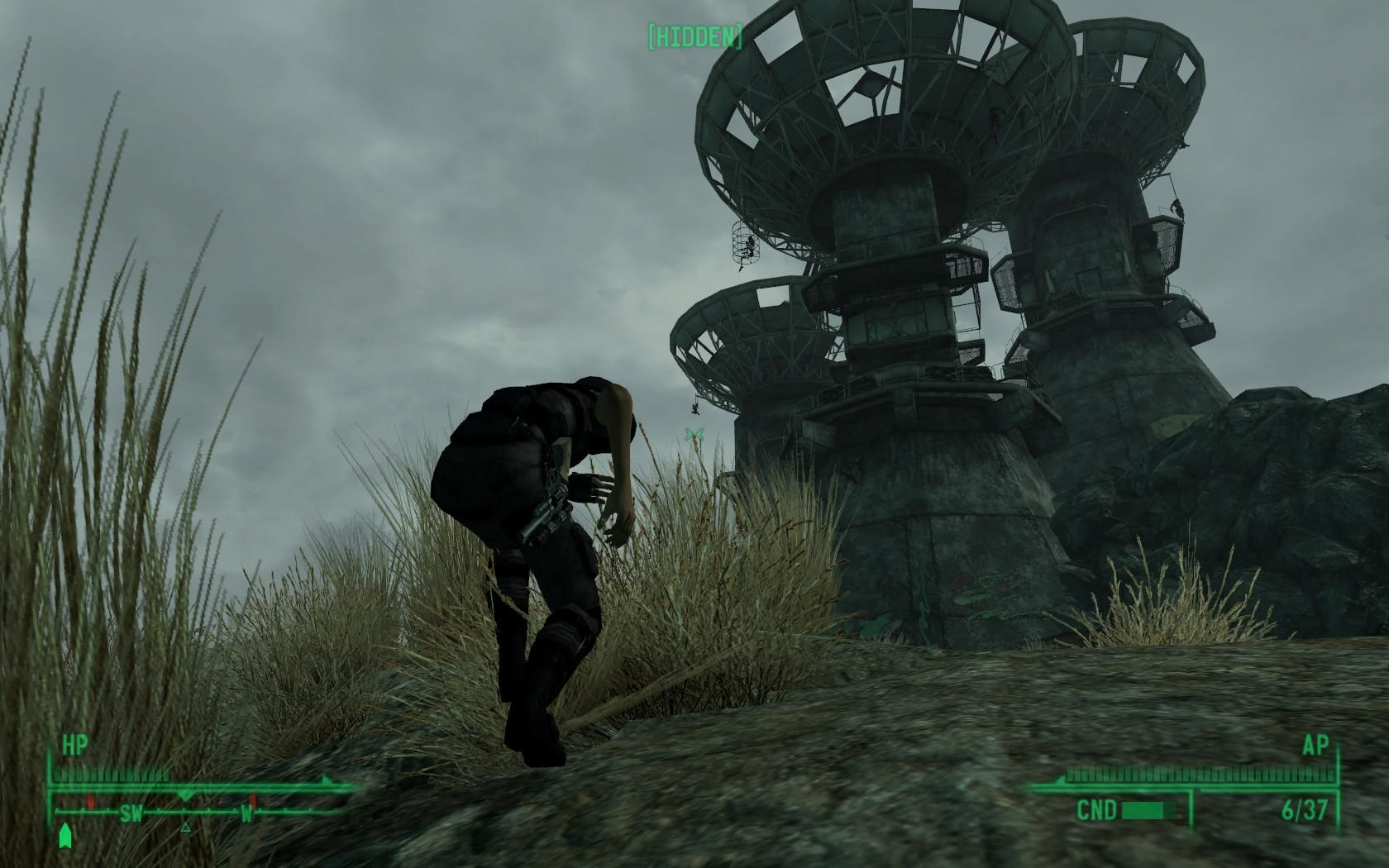 Fallout 3 Windows Sneaking through enemy lines.