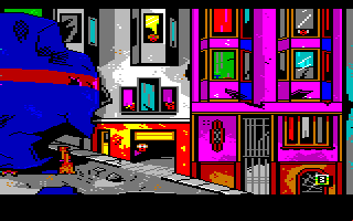 Manhunter 2: San Francisco Amiga You crashed this orb ship in San Francisco.