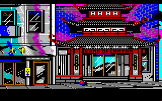Manhunter 2: San Francisco Amiga China town.