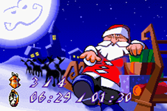 Santa Claus Jr. Advance Game Boy Advance End of level screen