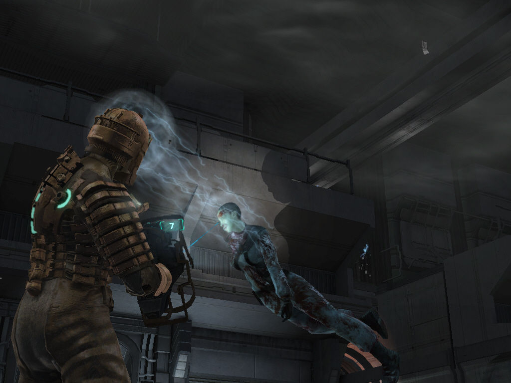 Dead Space Windows Kinesis can be used to lift and throw...ehum.. objects... This is often used to solve puzzles, and is a good way to kill enemies without wasting ammo.