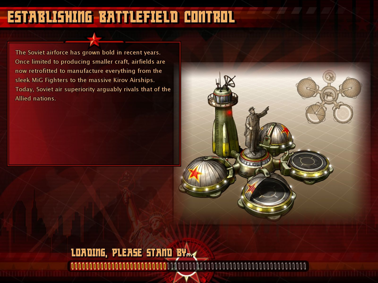 Command & Conquer: Red Alert 3 Windows Loading Screen