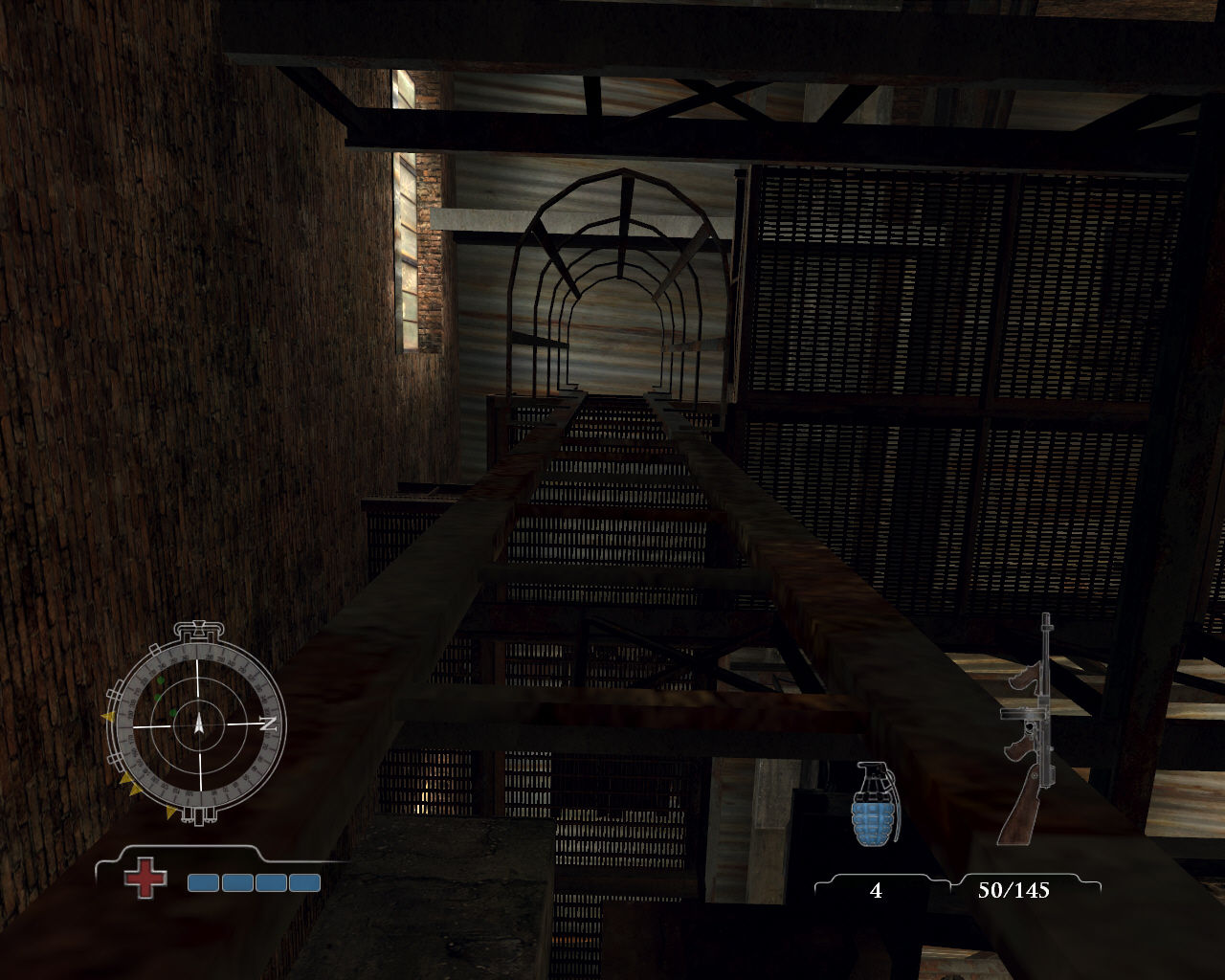 Medal of Honor: Airborne Windows Climbing ladder.