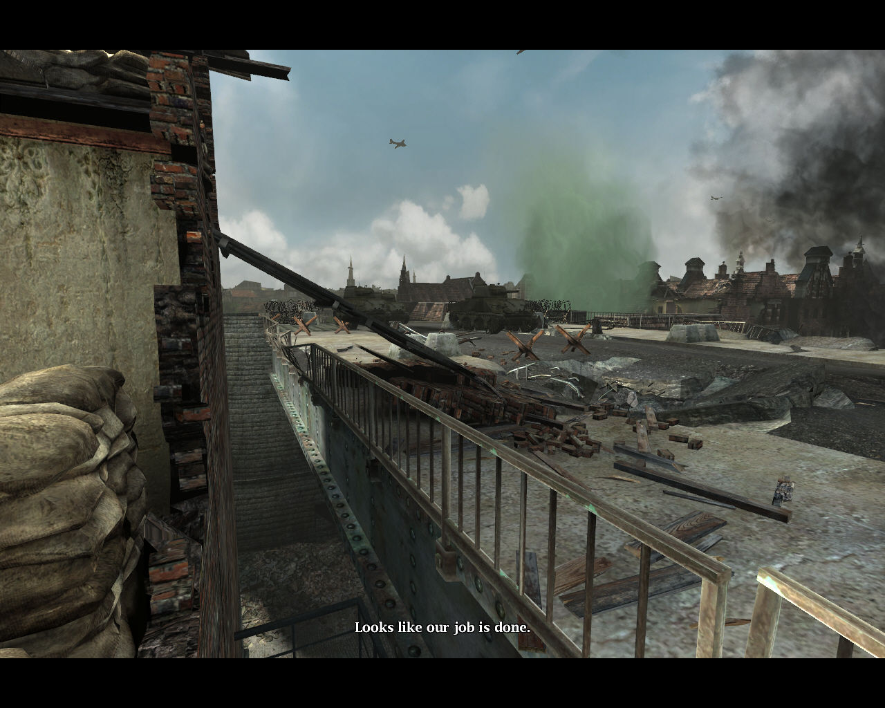 Medal of Honor: Airborne Windows Friendly convoy.