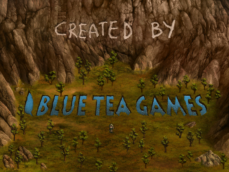 Forgotten Lands: First Colony Windows Blue Tea Games logo