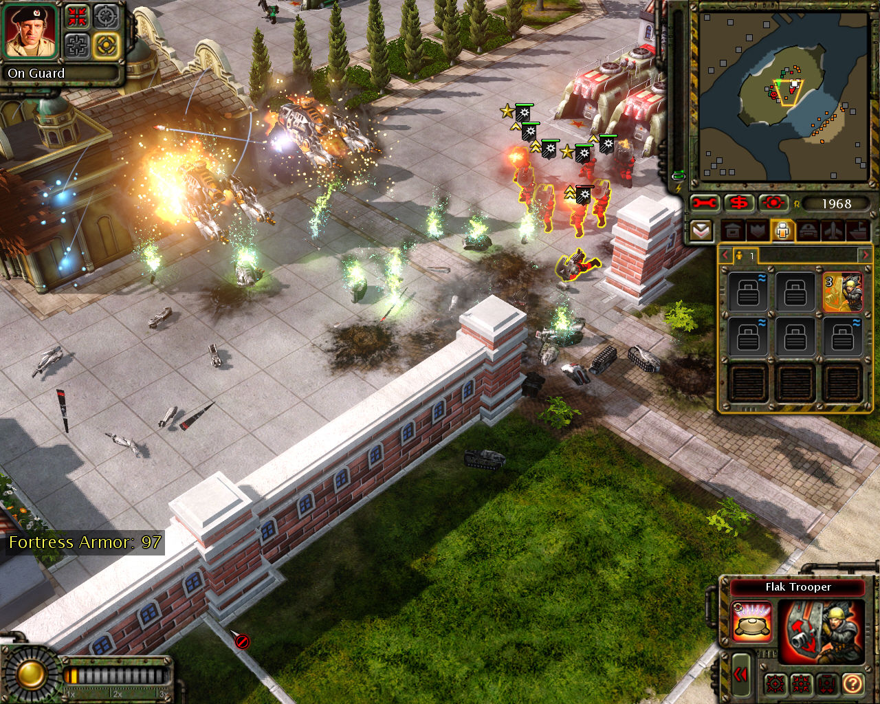 Command & Conquer: Red Alert 3 Windows Under attack by Chinese.