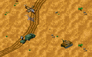 Jungle Strike DOS Level 3 - A radar site.