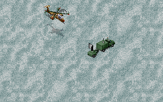 Jungle Strike DOS Level 6 - A mobile radar.