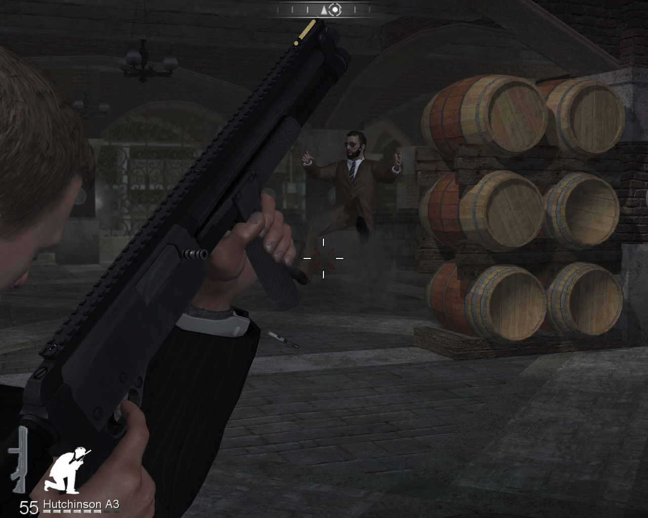 007: Quantum of Solace Windows Shotgun is a powerful weapon.