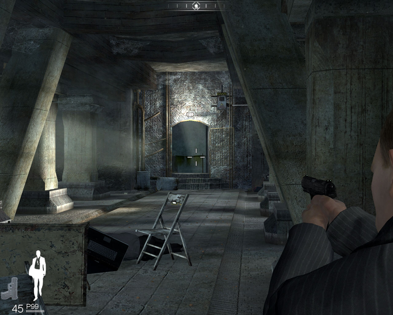 007: Quantum of Solace Windows At MI-6 safehouse.