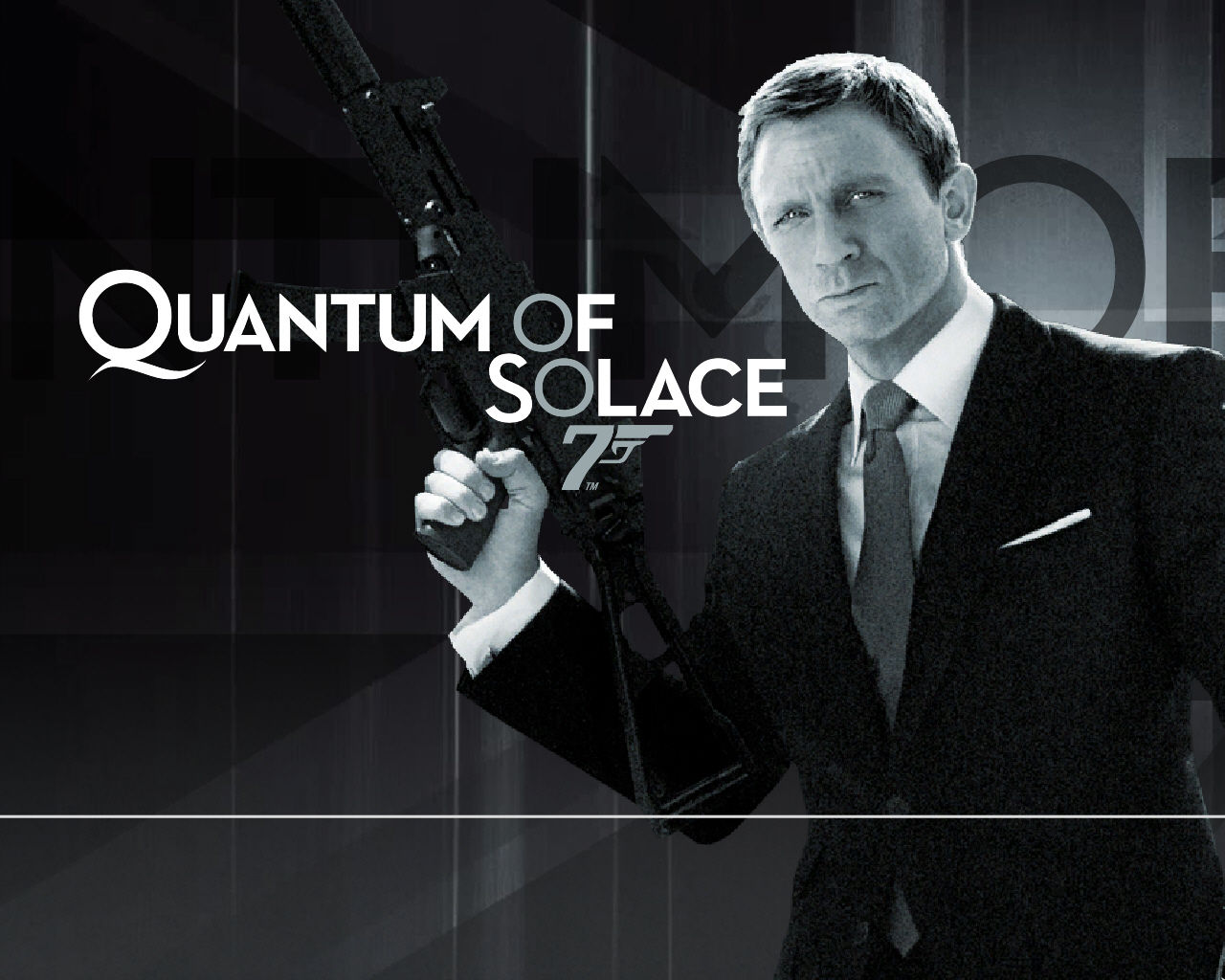 007: Quantum of Solace Windows Title Screen.