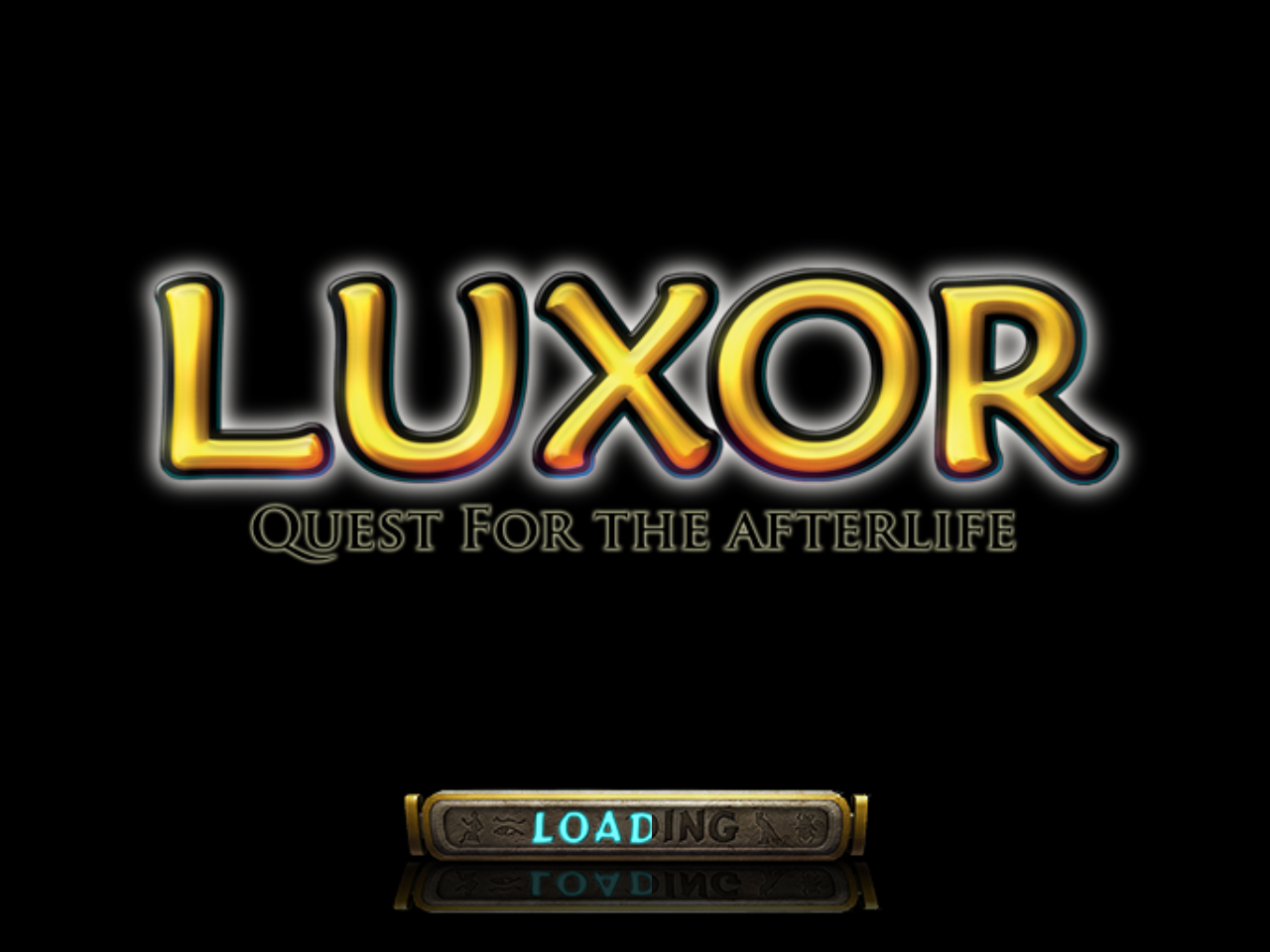 Luxor: Quest for the Afterlife Windows Loading screen