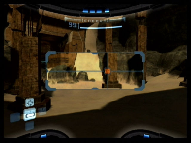 Metroid Prime GameCube Use the scan visor to search for clues