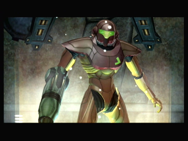 Metroid Prime GameCube Continuing on from a save point