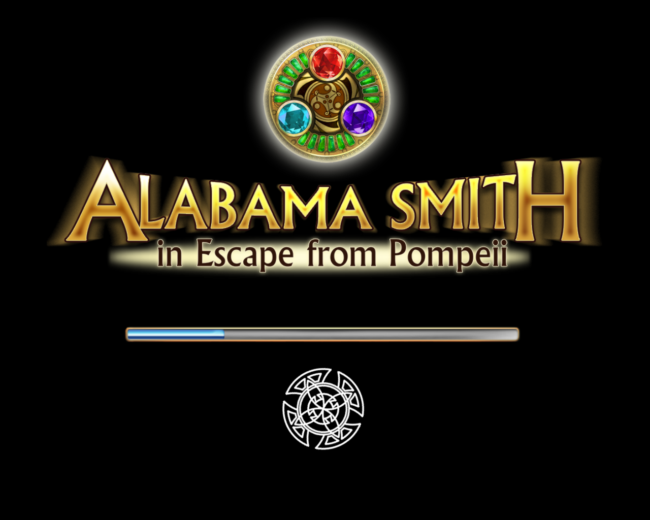 Alabama Smith in Escape from Pompeii Windows Loading screen
