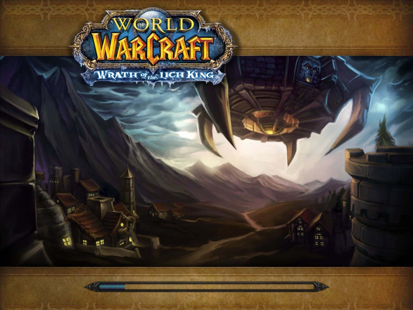 World of Warcraft: Wrath of the Lich King Windows One of the new loading screens