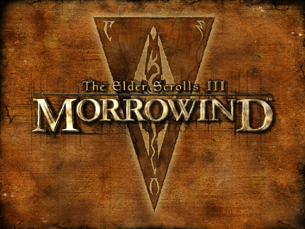 The Elder Scrolls III: Morrowind Windows Title screen