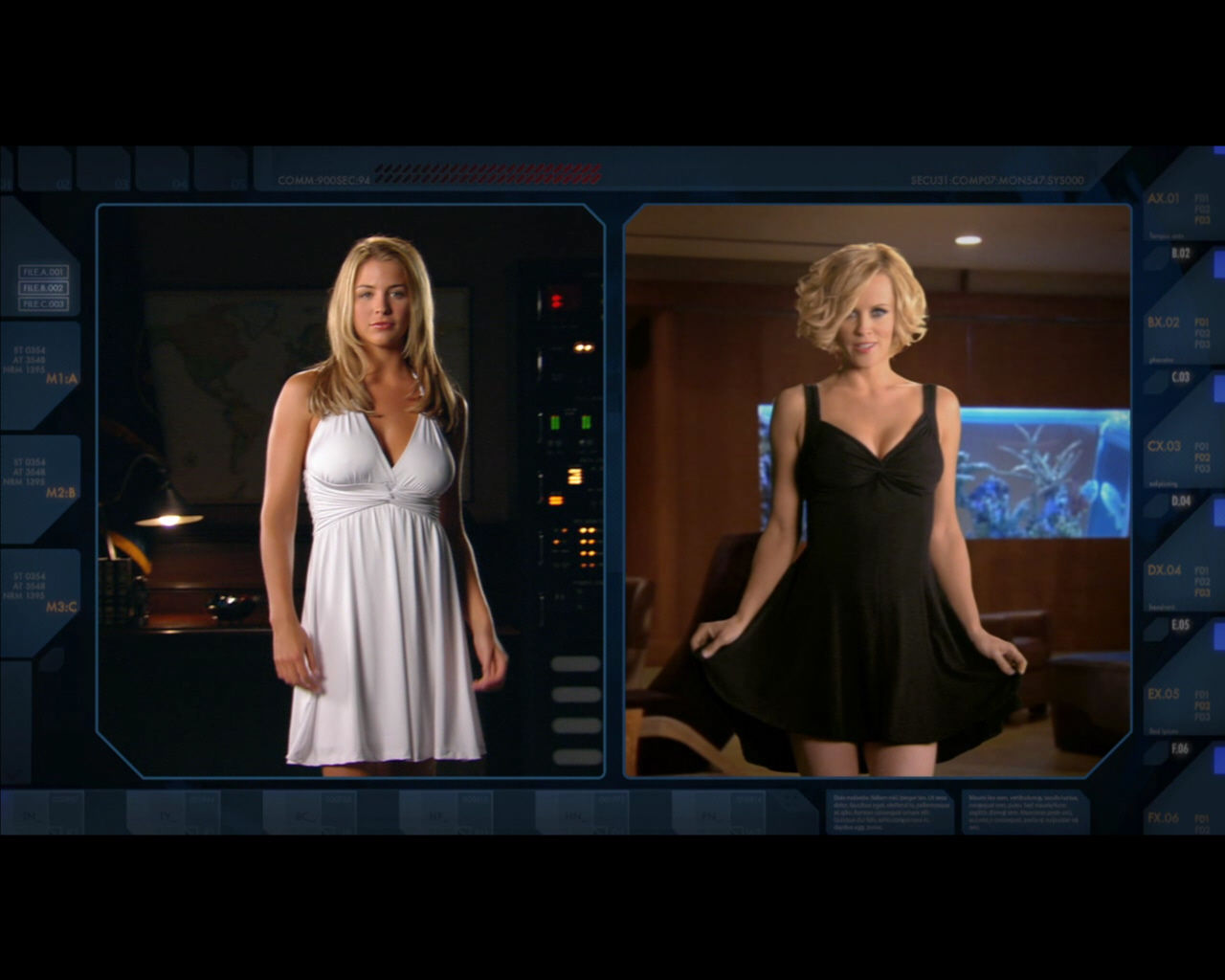 Command & Conquer: Red Alert 3 Windows Gemma Atkinson (as Eva) and Jenny McCarthy (as Tanya).