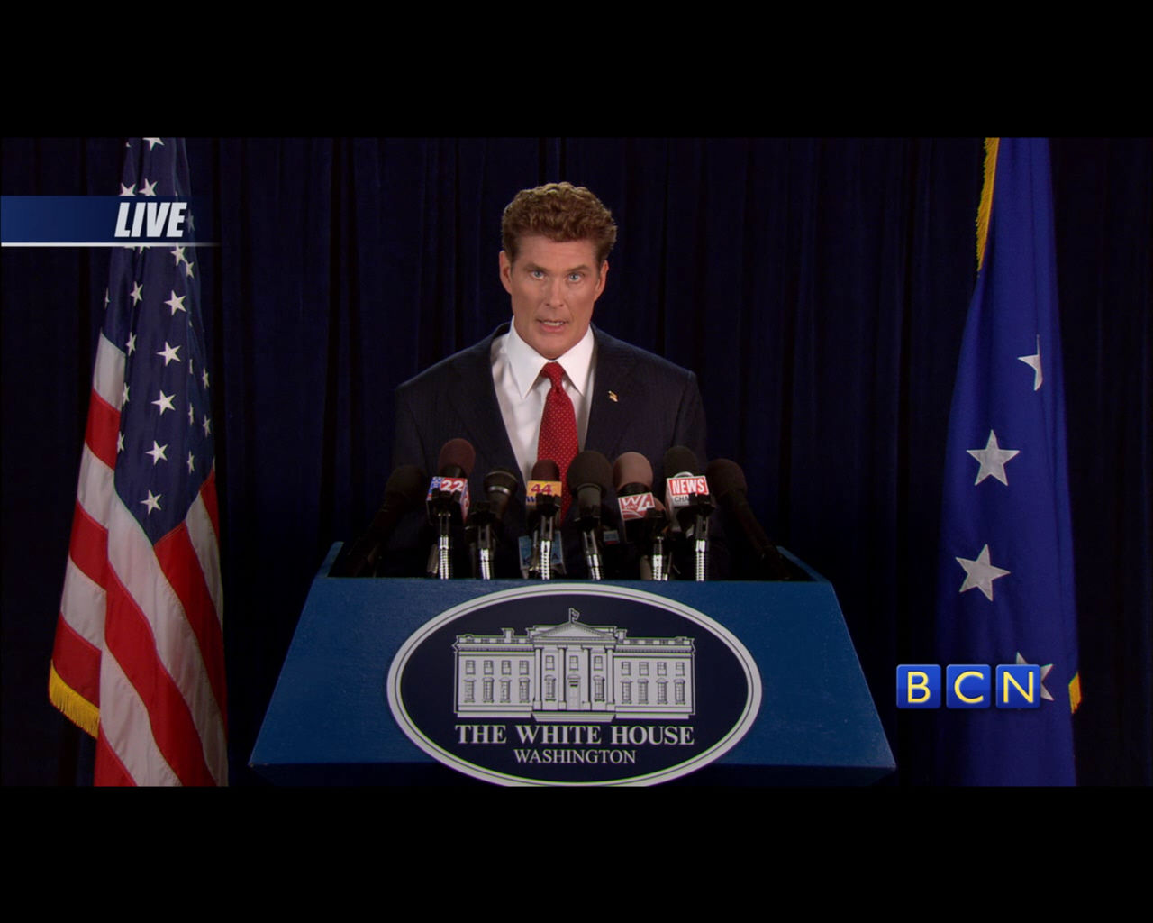Command & Conquer: Red Alert 3 Windows How did David Hasselhoff get into the White House?