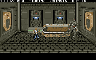 Double Dragon III: The Sacred Stones DOS The mummy of Cleopatra rises.