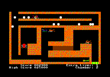 Fire Ant Amstrad CPC Chamber 2. That fly will help clear my path.