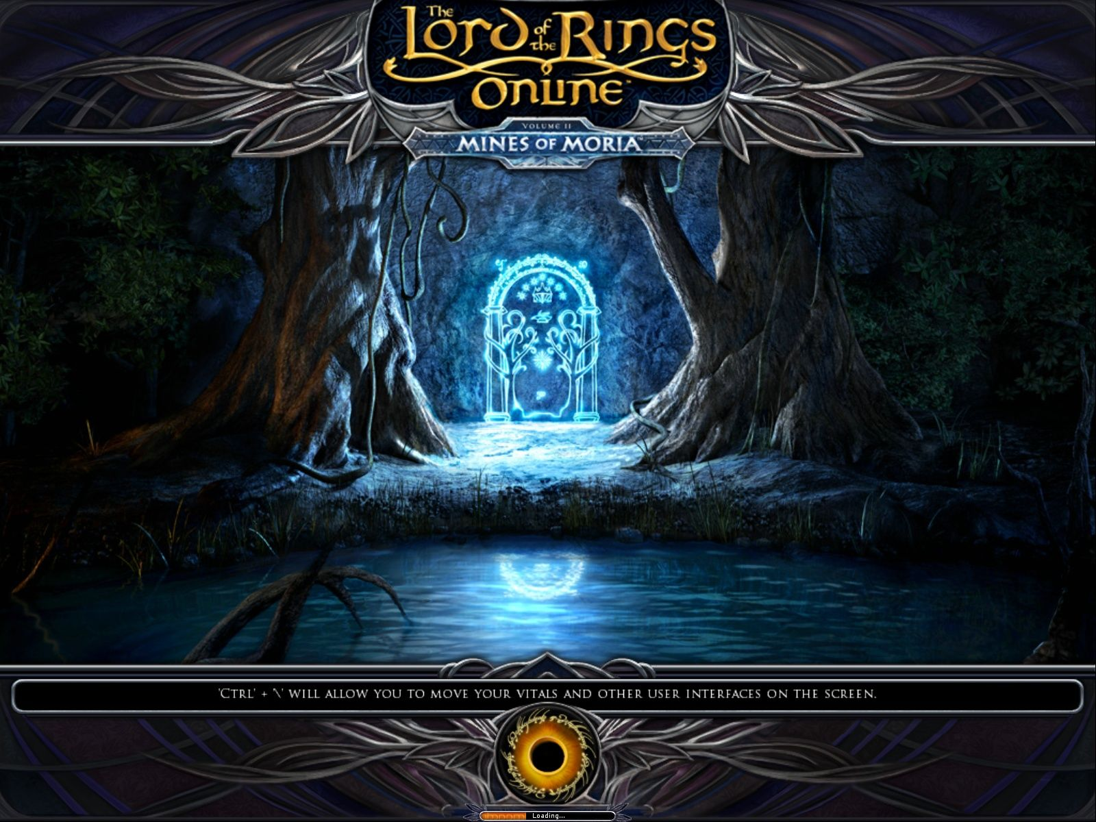 The Lord of the Rings Online: Mines of Moria Windows The new loading screen.