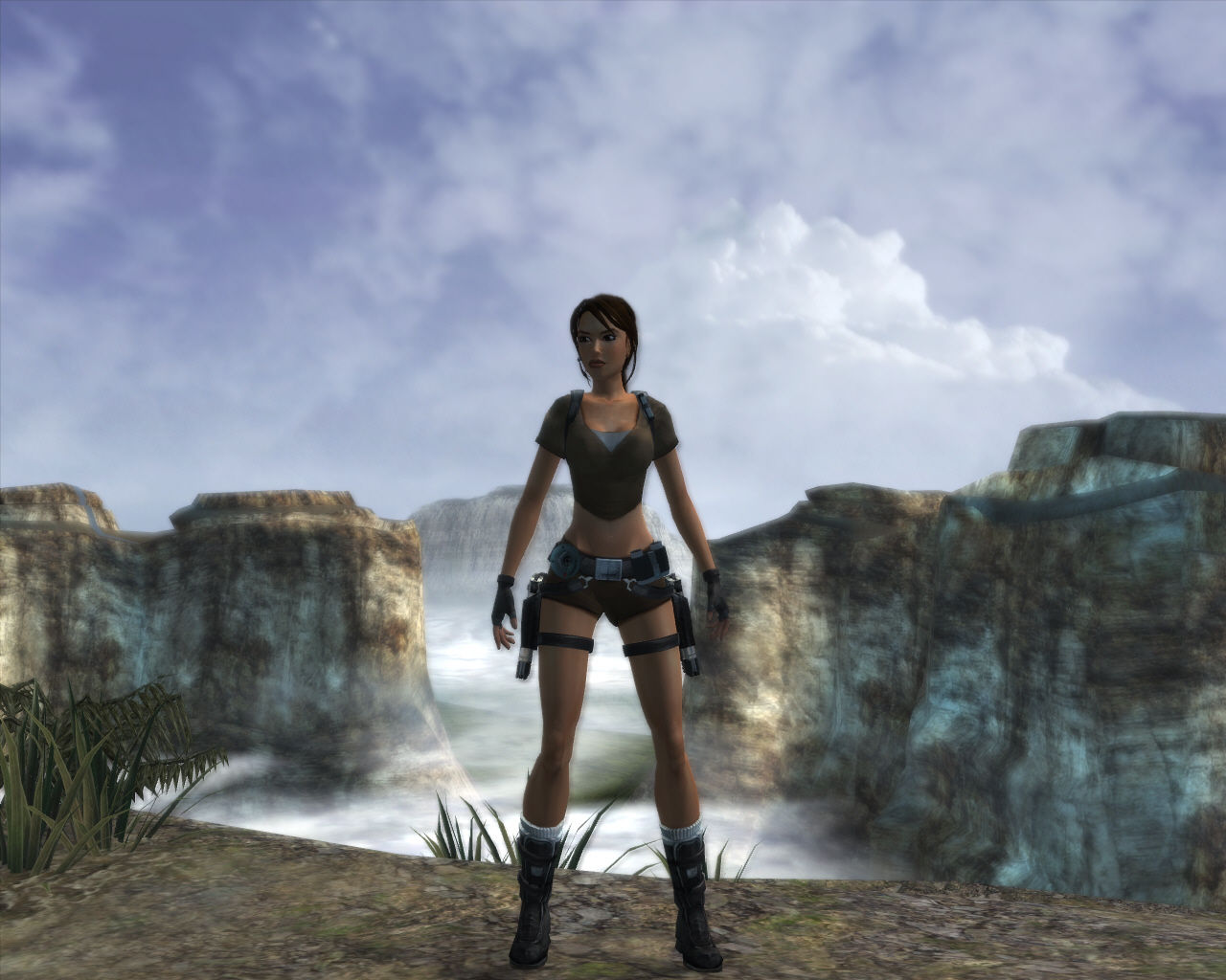 Lara Croft: Tomb Raider - Legend Windows Lara Croft somewhere in Bolivia.