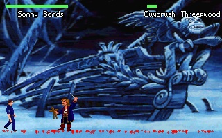 Quest Fighter 2 Windows Sonny Bonds vs. Guybrush