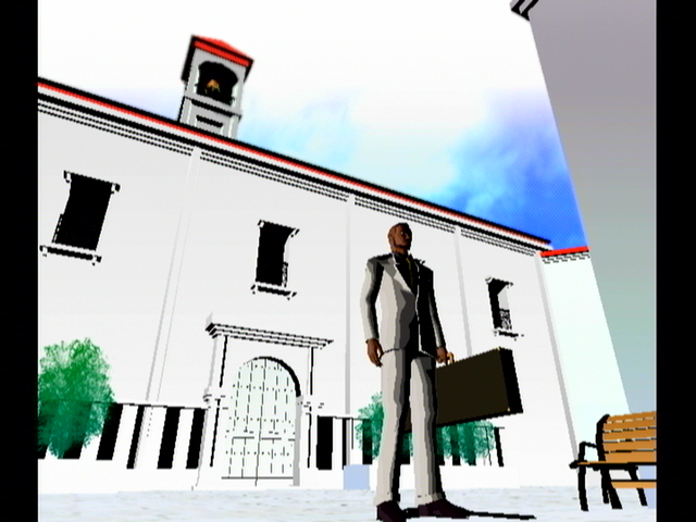 Killer7 GameCube Welcome to the Dominican Republic.