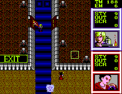 Gain Ground SEGA Master System Fighting in another part of the stronghold.