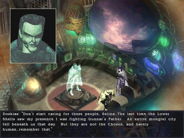 Septerra Core: Legacy of the Creator Windows The villainous Lord Doskias goes above and beyond the call of duty as an evil overlord and complete jerk