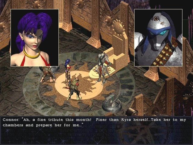 Septerra Core: Legacy of the Creator Windows Just like Cloud in FF7, Maya has to disguise herself as a stripper to infiltrate pirate lord Conner's base. Unlike FF7 this ain't no joke, since unlike Cloud, Maya really is a woman
