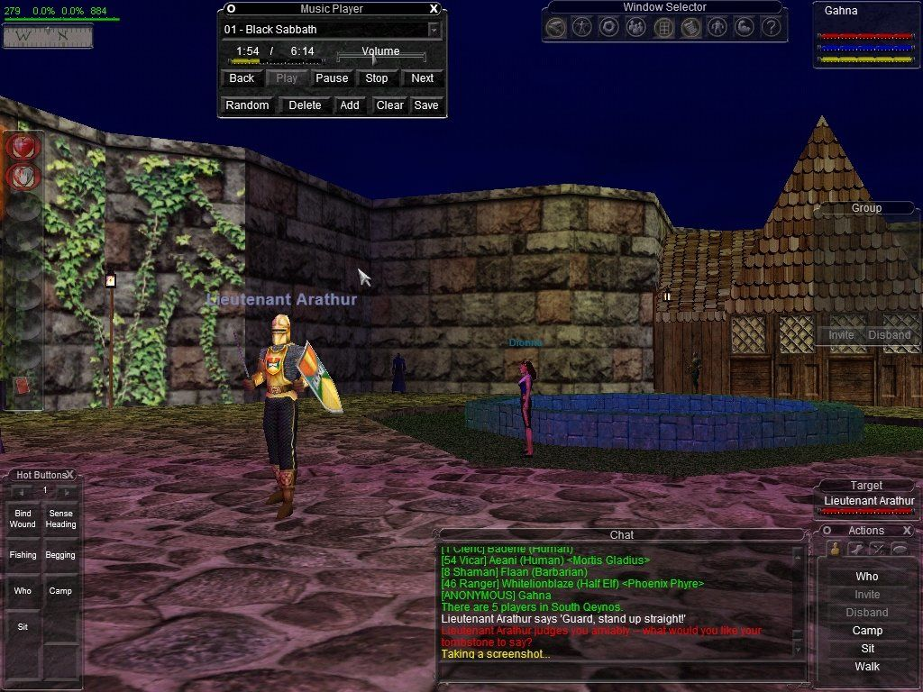 Image result for everquest screen shot