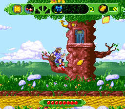 The Wizard of Oz SNES Jumping.