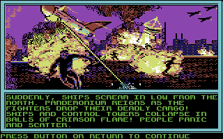 Buck Rogers: Countdown to Doomsday Commodore 64 ... with an attack of the Terrines