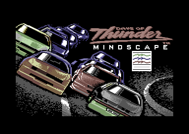 Days of Thunder Commodore 64 Loading screen