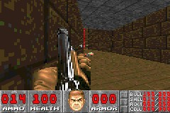 DOOM Game Boy Advance Just tryin' out the old shotgun