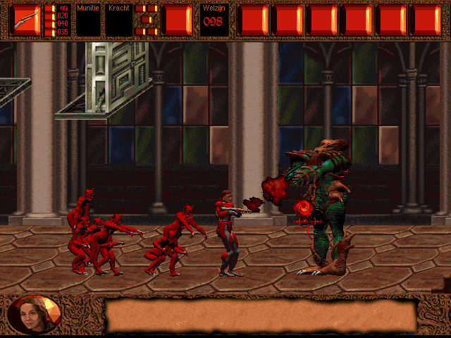 Dark Angael Windows The green baddie is easier to defeat than one initially expects.