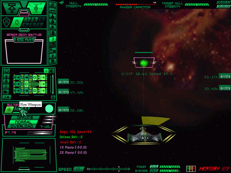 Star Trek: Starfleet Command - Orion Pirates Windows Romulan star empire.
