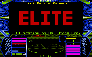 Elite Atari ST Second title