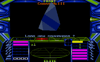 Elite Atari ST Your ship