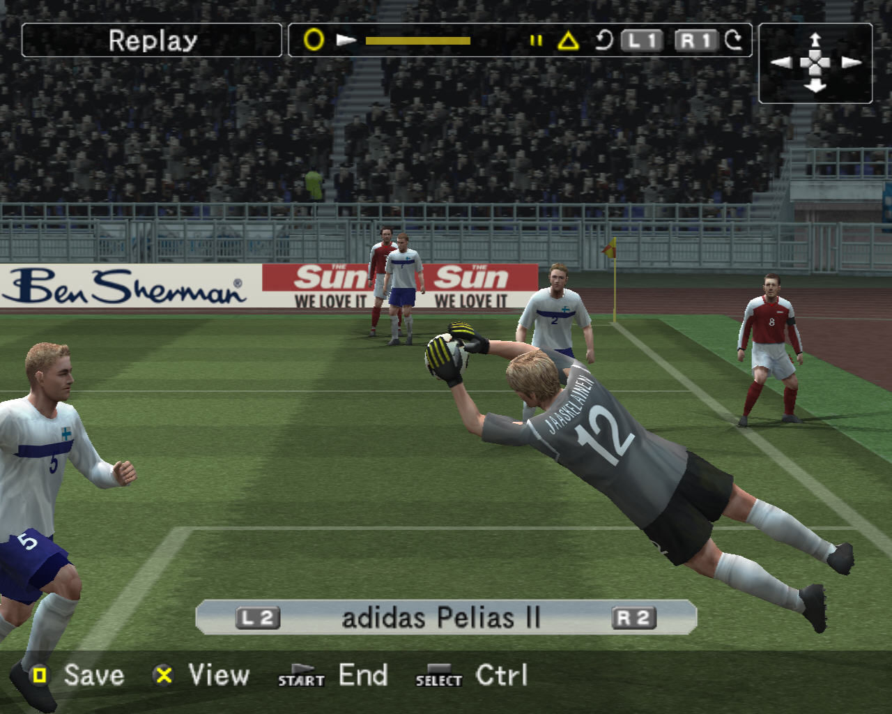 World Soccer: Winning Eleven 9 Windows Replay mode